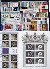 EUROPA: ANNEE 1993 QUASI COMPLETE DE 97 TIMBRES+ 9 BLOCS NEUF** Cote: 282,00 €
