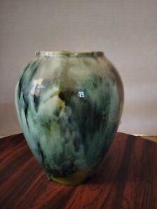 Brush McCoy Vase Planter Drip Glaze