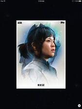 STAR WARS CARD TRADER - THE LAST JEDI - PREMIERE PORTRAITS - ROSE
