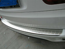 Stainless Steel Rear Sill Bumper Cover Plate For BMW X5 E70 2007 - 2013