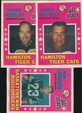 1971 O-Pee-Chee Posters (CFL) -Near Set (12/16) -LANCASTER, MOSCA, HENLEY