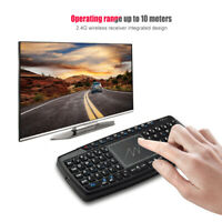 2.4GHz Wireless Air Mouse Keyboard 69 Keys with Touchpad for Computer PC Laptop