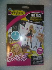 Colorforms Reusable Sticker Set Fun Pack Barbie Art and Craft Kit
