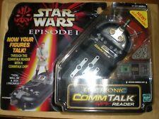 STAR WARS-EPISODE 1-ELECTRONIC COMM-TALK READER-SEALED UPON CARD