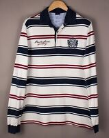 Paul & Shark Herren Freizeit Polohemd Sweatshirt Pullover Größe L ASZ179