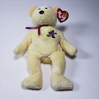 Mother Yellow Glitter Ty Beanie Baby Retired Rare