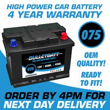 Type 075 Heavy Duty Car Van Battery Batteries 12V Sealed 4 Years Warranty