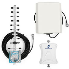 US STOCK GSM 1900MHz LTE 70dB Cellular Phone Signal Booster Repeater Yagi amp.