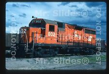 Original Slide Mexico CH-P Chihuahua Pacifico 25th Aniv.Paint GP28 802 W/FM Trks
