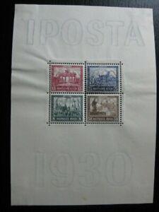 DEUTSCHES REICH Mi. #Block 1 rare mint Iposta stamp sheet! CV $660.00