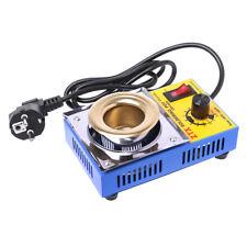 EUPlug 220V Tin Furnace Adjustable Melting Temperature Solder Pot For Iron Solde