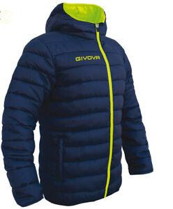 Giubbotto Givova Olanda Jacket Uomo Donna Unisex Full Zip Cappuccio Sport G013