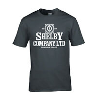 Shelby Company Limited T-Shirt  New Peaky Blinders T-Shirt SML - XXL BBC Thomas