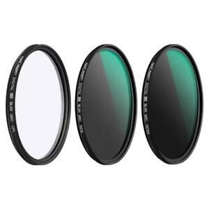K&F Concept CPL+ND8+ND64 filter 37/40.5/43/46/49/52/55/58/62/67/72/77/82mm