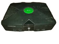 Original Classic Microsoft Xbox Black Console System Only For Parts/Repair Only