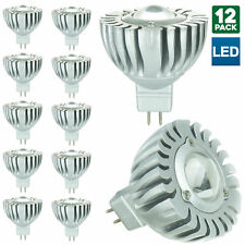 12 Pack Sunlite MR16 Mini Reflector, 12 voltios, GU5.3 Bombilla De Base, luz de día 6500K