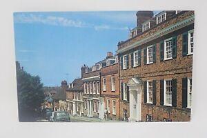 Fore Street, Hatfield DT80 Lastichrome Postcard PMK 1971