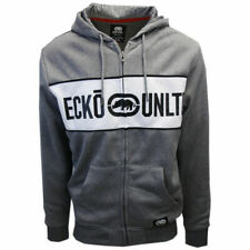 Ecko Unltd Men's Mid Heather Grey Full Zip Hoodie (S18)