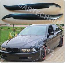 BMW E39 Headlights   Eyebrows ABS Plastic, 5 Series, tuning