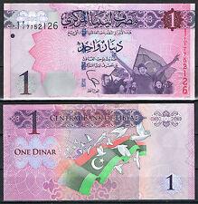 LIBIA - LIBYA  1  DINAR (2013) Pick Nuevo   SC  UNC