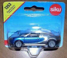 Siku Bugatti Veyron Supersport Convertable...2 Tone (Sealed) 1:55 (Item # 1305)