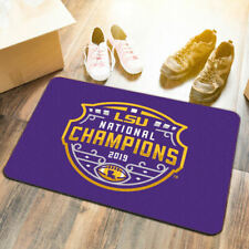 LSU Tigers 2019 Football National Champions Utility Doormat