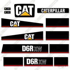 Caterpillar D6R XW Decals Bulldozer 7 Year Vinyl Replacement Stickers