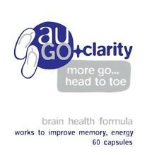 auGO+ clarity. Bacopa, Phosphatidylcholine, Omega formula for Brain Health