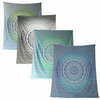 Mandala Flower Tagesdecke-Wandbehang-Dekotuch - div. Farben 210x240
