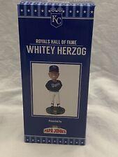Whitey Herzog Bobblehead - Kansas City Royals SGA 8/14/21 NIB
