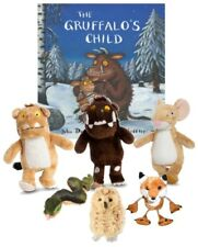 The Gruffalo, Mouse, Child, Toys Fox Owl Snake Finger Puppet  Book Story Set