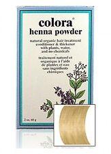 Colora Henna Powder Natural Organic Dye Hair Color Treatment Conditioner 2oz