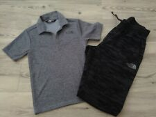 (W3) THE NORTH FACE BOYS SMALL SPORTSWEAR BUNDLE/OUTFIT SIZE S/P APPROX 8-10YRS
