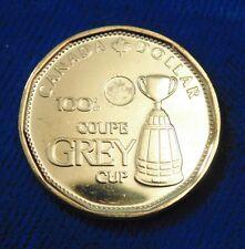 CANADA Canadian 2012 BRASS GREY CUP LOONIE DOLLAR BU UNC