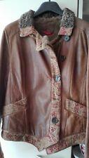 ETRO lammy/lammfell, leather with fur lining
