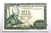 Spain- Estado Español. Billete. 1000 Pesetas. 1965. Madrid. SC-/UNC-