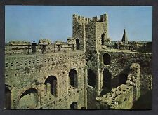 C1980's View of the Interior/Battlements of Rochester Castle.