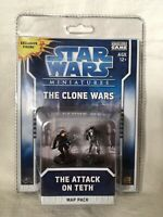 STAR WARS MINIATURES THE CLONE WARS THE ATTACK ON TETH BNIB