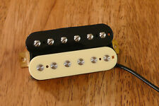 VINTAGE OUTPUT NECK HUMBUCKER PICKUP ZEBRA ALNICO 2 MAGNETS FOUR CONDUCTOR WIRED