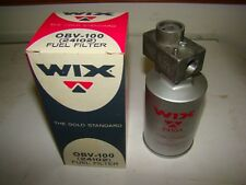 "Wix OBV-100 (24102) Fuel Filter, 3/8"" Fitting, New"