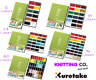 Kuretake Gansai Tambi Japanese Watercolour Paint Set 12/18/24/36/48 Pallets