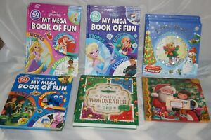Job lot of 18 Mixed Children Books Disney Frozen  Princess Pixar Brand New