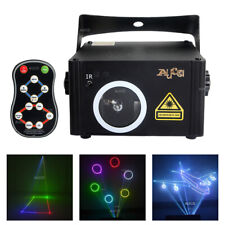 SD Card Animation Scan IR Remote RGB Laser Projector DMX DJ Disco Stage Lighting