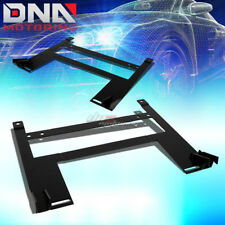 PAIR LEFT+RIGHT RACING BUCKET SEAT DOWN LOW MOUNT BRACKET FOR 05-10 CHEVY COBALT
