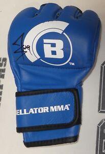 Jack Swagger Jake Hager Signed Official Bellator MMA Glove BAS Beckett COA WWE