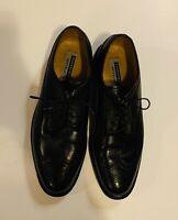 Florsheim Imperial Mens Dress Shoes Black Wing-Tip W/Travel Bag Oxfords Sz 9