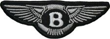Bentley Patch (3.5 Inch) Iron/Sew on Badge Motor Logo Racing Jacket Hat Bag NEW