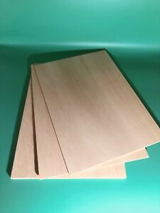 1 × Solid Camphor Wood Sheets 340mm x 160mm x 3mm or 8mm