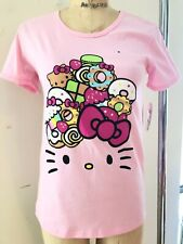 NWT EXCLUSIVE RARE Hello Kitty Cafe T shirt size M DISCONTINUED DESIGN