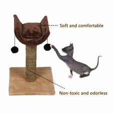 Cat Tree Scratch Pole Stand Toys Cat Kitten House Bed Furniture Interactive Toys